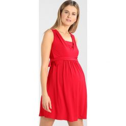Sukienki hiszpanki: Envie de Fraise BULLE Sukienka z dżerseju red