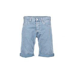 Szorty i Bermudy  Replay  SHORT WAITOM. Niebieskie bermudy męskie marki ARTENGO, l, z elastanu. Za 439,20 zł.