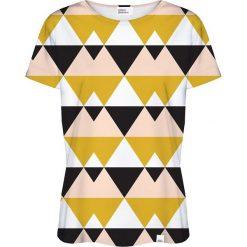 Colour Pleasure Koszulka damska CP-030 21 czarno-żółta r. XS/S. Fioletowe bluzki damskie marki Colour pleasure, uniwersalny. Za 70,35 zł.