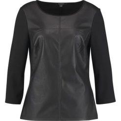 Bluzki asymetryczne: comma Bluzka z długim rękawem black