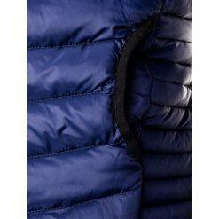 KURTKA MĘSKA PRZEJŚCIOWA PIKOWANA C299 - GRANATOWA. Czarne kurtki męskie pikowane marki Ombre Clothing, m, z nylonu. Za 99,00 zł.