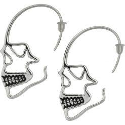 Wildcat Skull Hanger Kolczyki srebrny. Szare kolczyki damskie Wildcat, srebrne. Za 42,90 zł.
