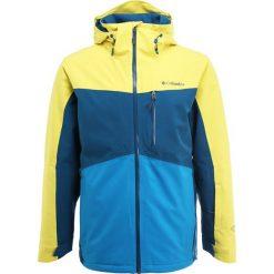 Columbia WILD CARD Kurtka narciarska acid yellow/phoenix blue. Niebieskie kurtki narciarskie męskie Columbia, m, z materiału. W wyprzedaży za 919,20 zł.