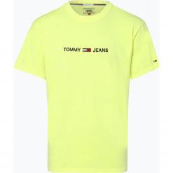 Tommy Jeans - T-shirt męski, żółty. Żółte t-shirty męskie z nadrukiem marki ATORKA, xs, z elastanu. Za 179,95 zł.