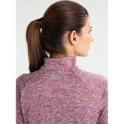 Under Armour TECH ZIP TWIST Koszulka sportowa black currant. Czerwone topy sportowe damskie marki Under Armour, xs, z materiału, z długim rękawem. W wyprzedaży za 151,20 zł.