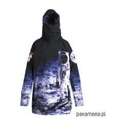 Moonwalk męska bluza z kapturem. Szare bejsbolówki męskie Pakamera, na zimę, z softshellu, z kapturem. Za 297,00 zł.