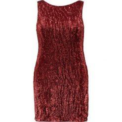Sukienki hiszpanki: Elvi SEQUIN DRESS  Sukienka koktajlowa red
