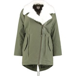 Parki damskie: GAP OVERSIZED MOTO Parka army jacket green