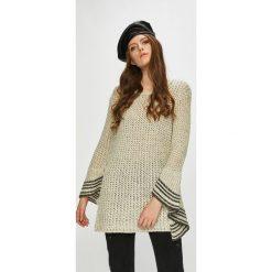 Silvian Heach - Sweter. Szare swetry klasyczne damskie marki Silvian Heach, l, z dzianiny, z włoskim kołnierzykiem. Za 629,90 zł.
