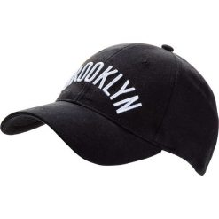 """Czapka z daszkiem """"Brooklyn"""" bonprix czarny. Czarne czapki z daszkiem damskie marki bonprix. Za 54,99 zł."""