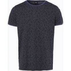 T-shirty męskie z nadrukiem: BOSS Casual – T-shirt męski – Typ, niebieski