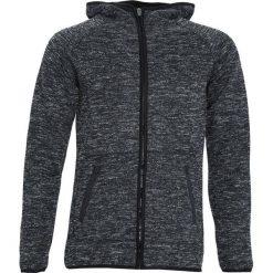 Czarna Bluza Embrasure. Czarne bluzy męskie rozpinane marki Born2be, l, z aplikacjami, z dresówki. Za 69,99 zł.