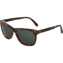 Okulary przeciwsłoneczne męskie aviatory: Polo Ralph Lauren Okulary przeciwsłoneczne mottled brown