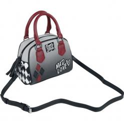 Harley Quinn Mad Love Torebka - Handbag wielokolorowy. Szare torebki klasyczne damskie Harley Quinn, z aplikacjami, z aplikacjami. Za 199,90 zł.