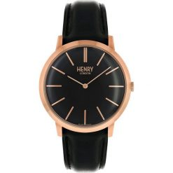 Henry London Zegarek schwarz. Czarne zegarki damskie Henry London. W wyprzedaży za 407,20 zł.