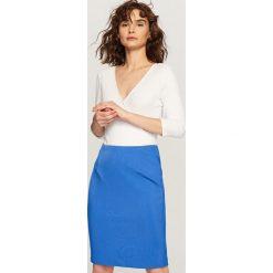Spódniczki: Ołówkowa spódnica – Fioletowy