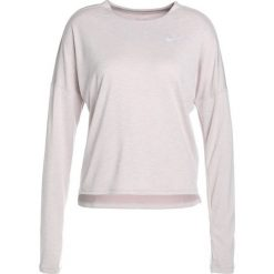 Topy sportowe damskie: Nike Performance DRY MEDALIST LONGSLEEVE Koszulka sportowa particle rose/white/reflective silv