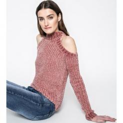 Answear - Sweter. Szare swetry klasyczne damskie marki Reserved, m, z kapturem. W wyprzedaży za 59,90 zł.