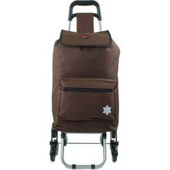 """Shopper bag damskie: Torba """"Atlas"""" w kolorze brązowym na zakupy – 42 x 92 x 35 cm"""