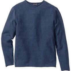 Swetry męskie: Sweter Regular Fit bonprix ciemnoniebieski melanż