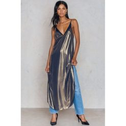 Długie sukienki: Free People Sukienka Bieliźniana Anytime Shine - Gold