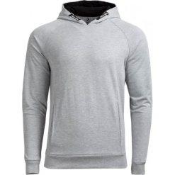 Bluza męska BLM601A - średni szary melanż - Outhorn. Szare bluzy męskie rozpinane Outhorn, na lato, m, melanż, z materiału. W wyprzedaży za 59,99 zł.