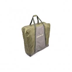 Torba na łóżko wędkarskie. Czarne torebki klasyczne damskie marki B'TWIN, z materiału. Za 99,99 zł.