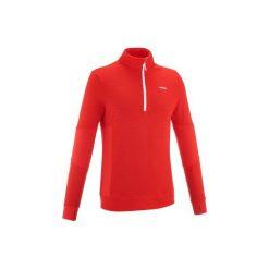 Sweter MID WARM 300. Szare swetry klasyczne męskie marki WED'ZE, m, z wełny. W wyprzedaży za 59,99 zł.