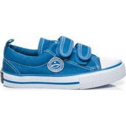 Buty dziecięce: NIEBIESKIE TRAMPKI