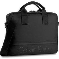Torba na laptopa CALVIN KLEIN - Matthew Laptop Bag K50K502852 001. Czarne plecaki męskie marki Calvin Klein, z materiału. W wyprzedaży za 369,00 zł.