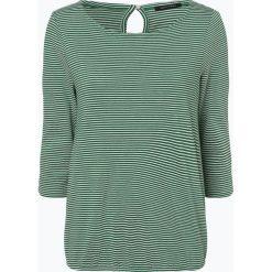 Marc O'Polo - Koszulka damska, zielony. Zielone t-shirty damskie Marc O'Polo, s, w paski, polo. Za 169,95 zł.