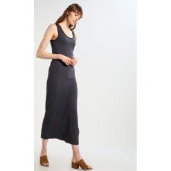 Długie sukienki: American Vintage ROMIBURY Długa sukienka vintage carbon
