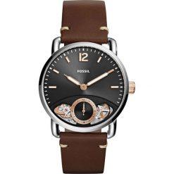 Zegarek FOSSIL - The Commuter Twist ME1165 Brown/Silver. Różowe zegarki męskie marki Fossil, szklane. Za 769,00 zł.