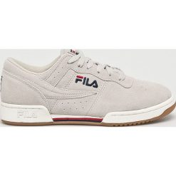Fila - Buty Original Fitness. Szare buty fitness męskie marki Fila, z materiału, na sznurówki. Za 389,90 zł.