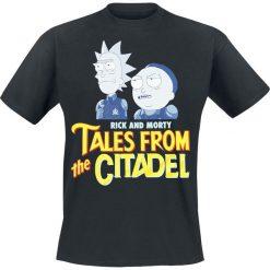 T-shirty męskie z nadrukiem: Rick And Morty Tales From The Citadel T-Shirt czarny