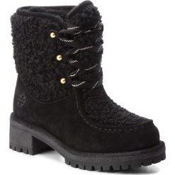 Trapery TORY BURCH - Meadow Boot 49197 Perfect Black/Perfect Black 004. Czarne buty zimowe damskie Tory Burch, z materiału. W wyprzedaży za 1679,00 zł.