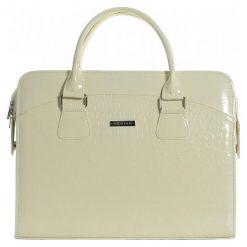 Grosso Bag Torebka Damska Kremowy. Białe torebki klasyczne damskie Grosso Bag. W wyprzedaży za 99,00 zł.