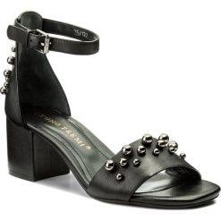 Rzymianki damskie: Sandały BRUNO PREMI – Vitello R1400G Nero