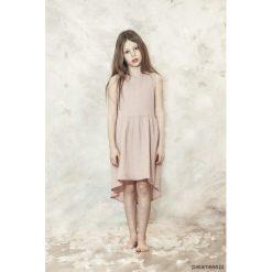 GRACE Sukienka asymetryczna. Szare sukienki dziewczęce z falbanami Pakamera, z bawełny. Za 189,00 zł.
