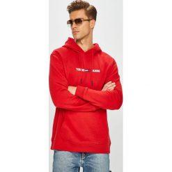 Tommy Jeans - Bluza. Czerwone bluzy męskie rozpinane marki KALENJI, m, z elastanu, z długim rękawem, długie. Za 449,90 zł.