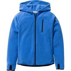 Bluza z polaru z kontrastowymi elementami bonprix lodowy niebieski - ciemnoniebieski. Czerwone bluzy chłopięce rozpinane marki KALENJI, m, z elastanu, z długim rękawem, długie. Za 74,99 zł.