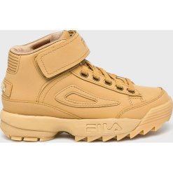 Fila - Buty Disruptor. Brązowe buty sportowe damskie marki NEWFEEL, z gumy. Za 599,90 zł.