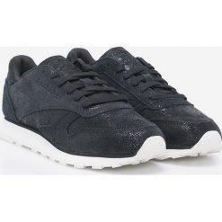 Reebok Classic - Buty CL LTHR SHIMMER. Szare buty sportowe damskie reebok classic Reebok Classic, z gumy. W wyprzedaży za 199,90 zł.