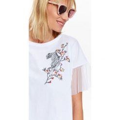 T-shirty damskie: T-SHIRT DAMSKI Z APLIKACJĄ