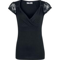 Black Premium by EMP Jeanne Koszulka damska czarny. Czarne bluzki koronkowe marki Black Premium by EMP, xl. Za 56,90 zł.