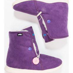 Native LUNA Śniegowce beetle purple/bone white. Fioletowe buty zimowe damskie marki Native, z materiału. W wyprzedaży za 169,50 zł.