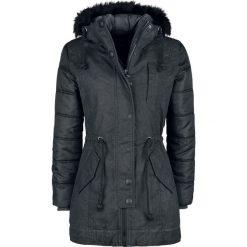 Brandit Betty Kurtka zimowa damska czarny. Czarne bomberki damskie Brandit, na zimę, s, z bawełny. Za 399,90 zł.