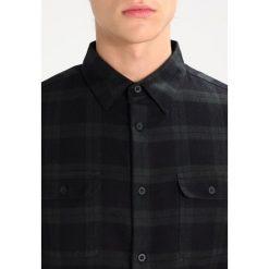 Koszule męskie na spinki: Burton Menswear London WATCH CHECK Koszula black
