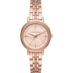Zegarek MICHAEL KORS - Cinthia MK3643 Rose Gold/Rose Gold. Czerwone zegarki damskie Michael Kors. Za 1290,00 zł.