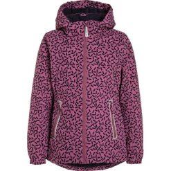 Mikkline GIRLS JACKET  Kurtka zimowa red sorbet. Fioletowe kurtki chłopięce zimowe marki mikk-line, z materiału. W wyprzedaży za 335,20 zł.